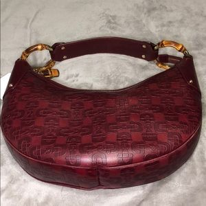 💕HOST PICK💕 Gucci Horsebit Bamboo Ring Hobo